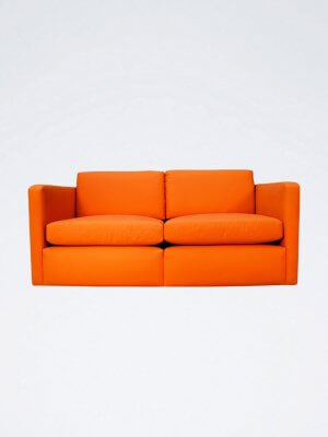 Wicker-Sofa