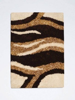 Beige Brown Rug