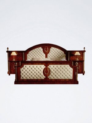 Barcelona Bamboo Bed