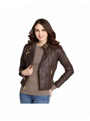 Women Leather Coat