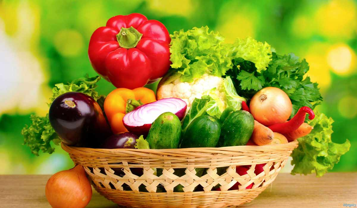 Organic Vegetables Basket